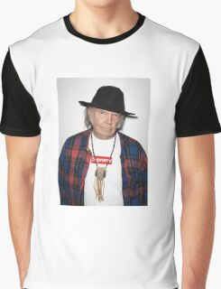 Supreme Neil Young Graphic T-Shirt