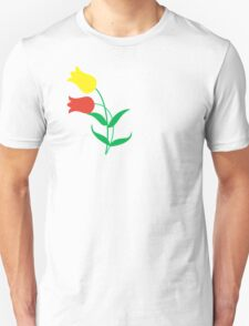 Red and yellow tulips Unisex T-Shirt