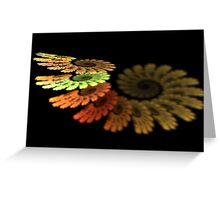 Earth Spiral Greeting Card