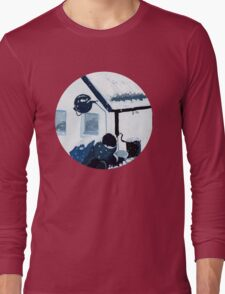 Snowy Scene Long Sleeve T-Shirt