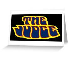 Pontiac GTO The Judge Greeting Card