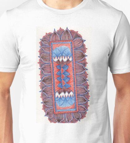 Tribal Feather Bar Unisex T-Shirt