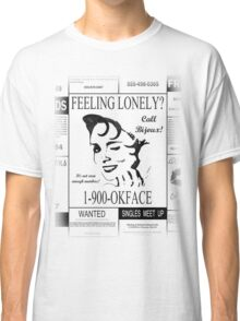30 Rock (1-900-OKFACE) Classic T-Shirt