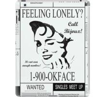 30 Rock (1-900-OKFACE) iPad Case/Skin