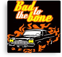 Plymouth Fury - Bad to the bone Canvas Print