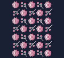 Sakura Cherry Blossoms One Piece - Long Sleeve