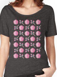 Sakura Cherry Blossoms Women's Relaxed Fit T-Shirt