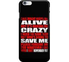 I Remember You - Marceline's Verse iPhone Case/Skin