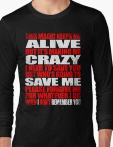 I Remember You - Marceline's Verse Long Sleeve T-Shirt