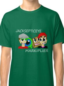 Markiplier and Jacksepticeye Classic T-Shirt