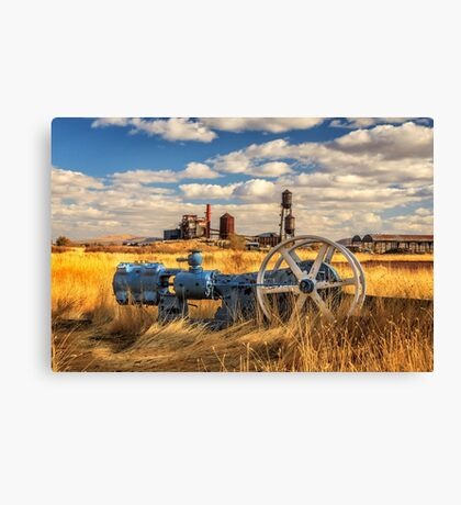 The Old Lumber Mill Canvas Print