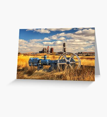 The Old Lumber Mill Greeting Card