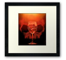 Something Red For Bedelia Framed Print