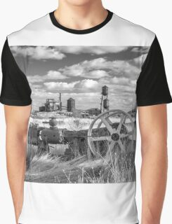 The Old Lumber Mill BW Graphic T-Shirt