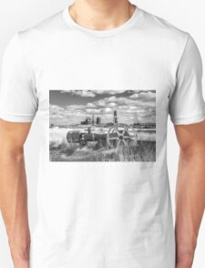The Old Lumber Mill BW Unisex T-Shirt