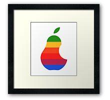 Peer Apple ! Framed Print