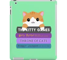 Cats & Books iPad Case/Skin