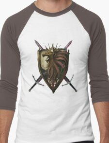 GW2 Kingdom  Men's Baseball ¾ T-Shirt