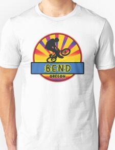 MOUNTAIN BIKE BEND OREGON BIKING MOUNTAINS Unisex T-Shirt