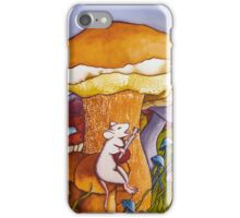 Party on mushroom hill iPhone Case/Skin