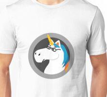 Geekicorn Geek Unicorn With Glasses Unisex T-Shirt