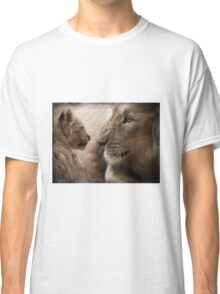 Lion and cub Classic T-Shirt