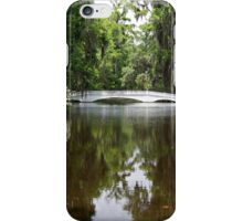 Bridge in the Garden iPhone Case/Skin