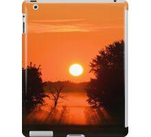 Burning Orange iPad Case/Skin