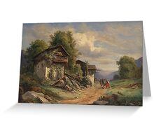 Joseph Höger () Rural Idyll Greeting Card