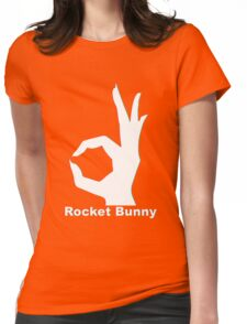 Rocket Bunny - 3D Logo Womens Fitted T-Shirt