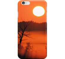 Morning at the Marsh iPhone Case/Skin