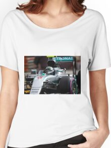 Nico Rosberg  Women's Relaxed Fit T-Shirt