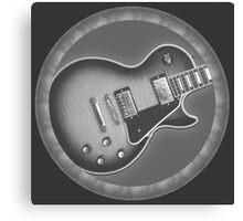 Cool Les Paul Guitar Canvas Print