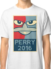 Perry the Platypus For President 2016 Classic T-Shirt