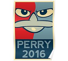 Perry the Platypus For President 2016 Poster