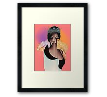 It was Beyonce at One Point Glitch Pt. 2  Framed Print