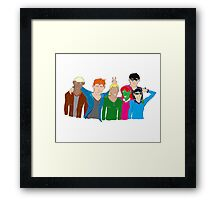 YJ Team- We'll Laugh About This 2 Framed Print