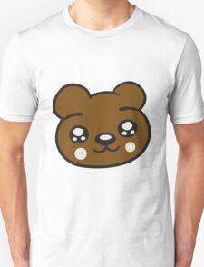 funny face head young sweet cute comic cartoon teddy Unisex T-Shirt