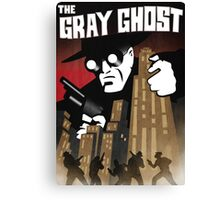 The Gray Ghost Canvas Print