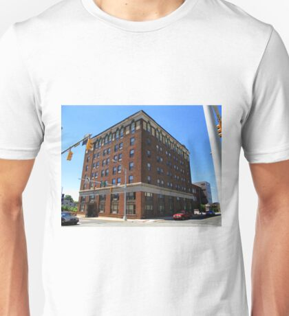 Burlington, North Carolina - Main Street Unisex T-Shirt