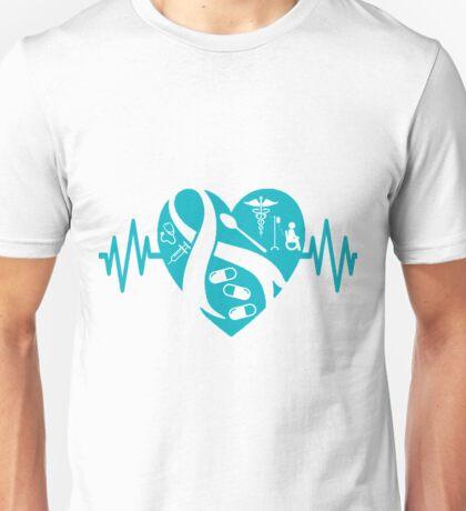 Dysautonomia Heart Unisex T-Shirt