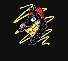 Hipster Wolf Grillz Unisex T-Shirt