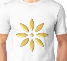 Golden flower Unisex T-Shirt