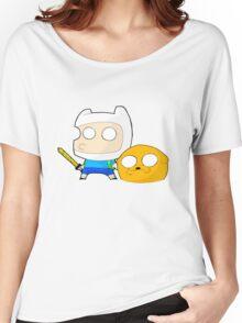 Finn&Jake Chibi Women's Relaxed Fit T-Shirt