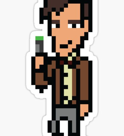 Matt Smith - Doctor Who Sticker