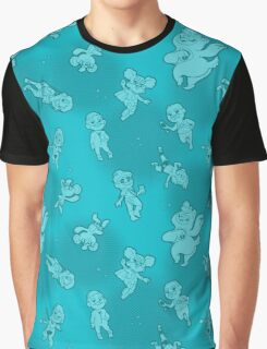 West Seattle Mini Bears - Scatter Shot (Blue) Graphic T-Shirt