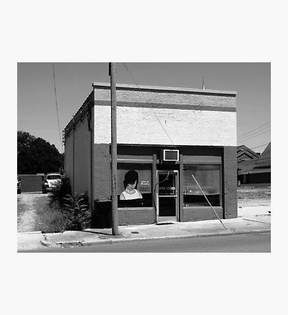 Burlington, North Carolina - Small Town Business Photographic Print