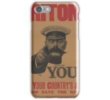 Vintage poster - British Military iPhone Case/Skin