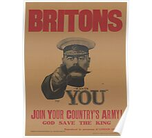 Vintage poster - British Military Poster