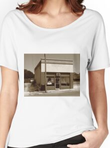 Burlington, North Carolina - Small Town Business Women's Relaxed Fit T-Shirt